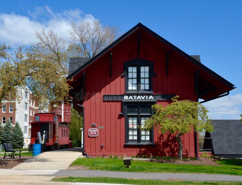 Batavia-Depot lizenzfreie stockbilder