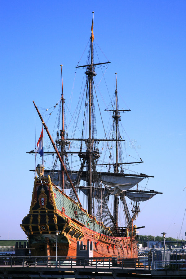 batavia gammal ship arkivfoto