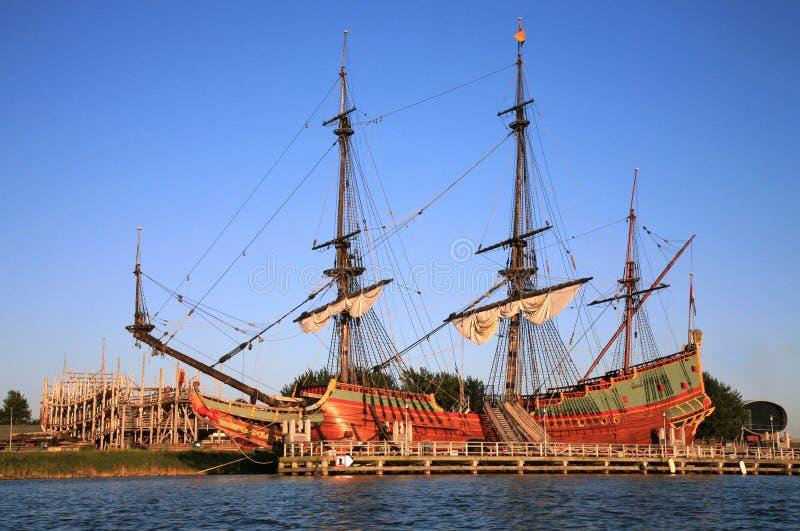 batavia gammal ship arkivfoton