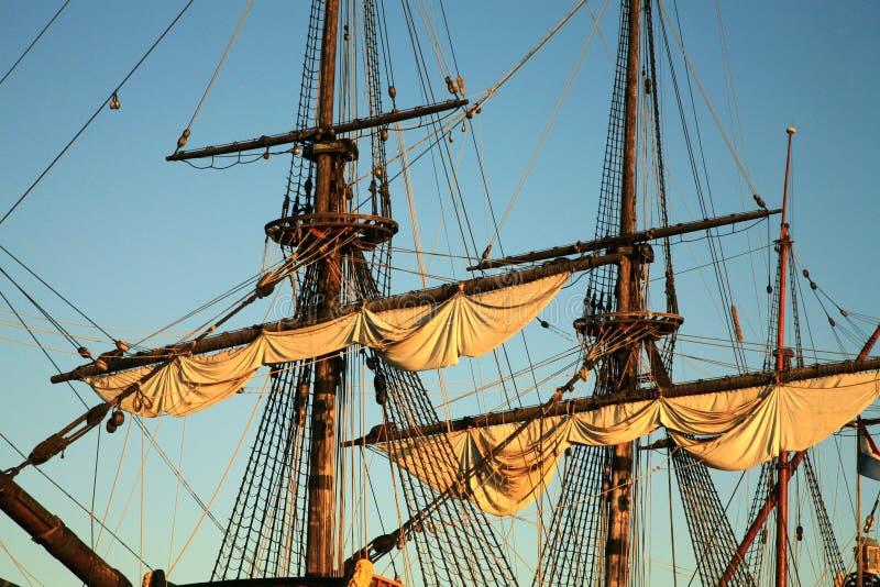 batavia gammal ship arkivbilder
