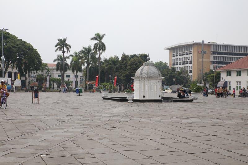 Batavia stad i Jakarta royaltyfri bild