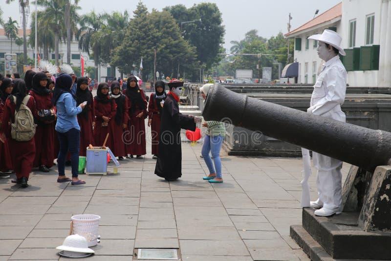 Batavia stad i Jakarta royaltyfri fotografi