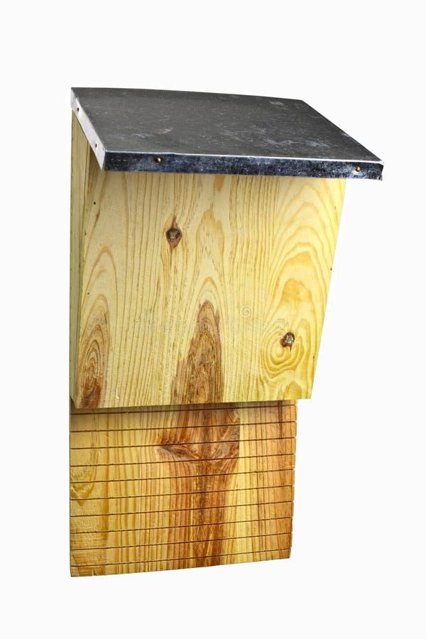 Batbox de madeira imagens de stock