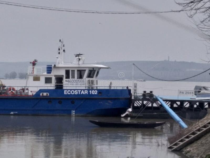 bateau photo stock