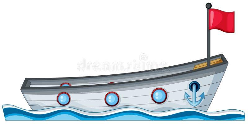 bateau illustration libre de droits