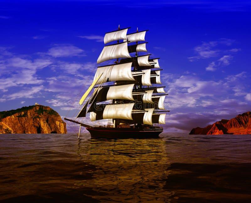 bateau antique images libres de droits
