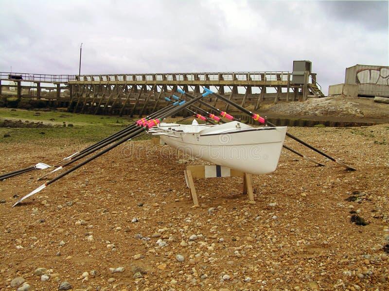 Bateau d'aviron image libre de droits