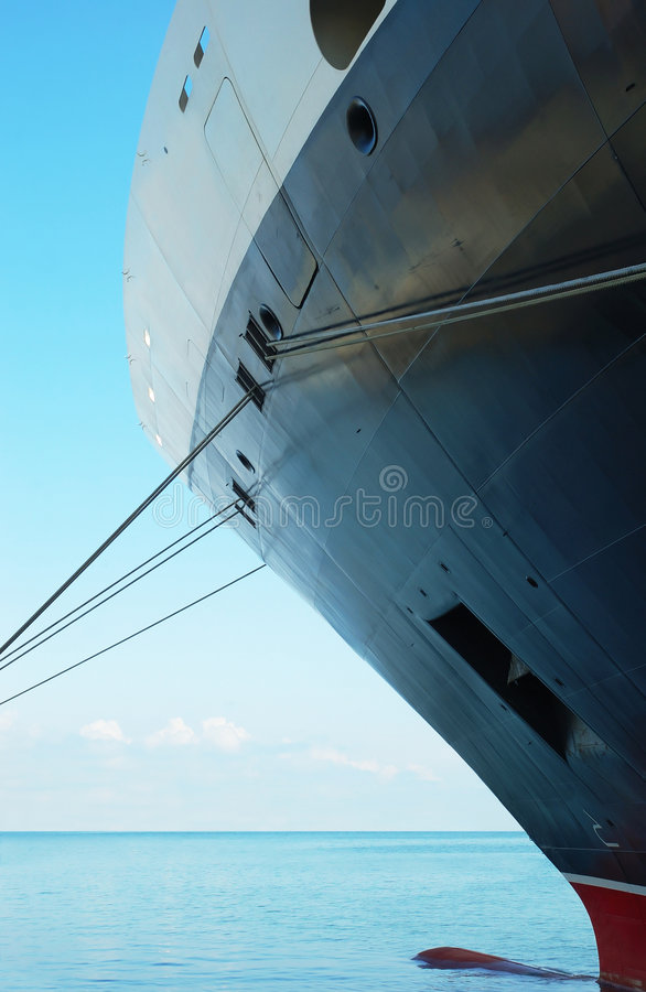 bateau de croisière de cargaison photos libres de droits