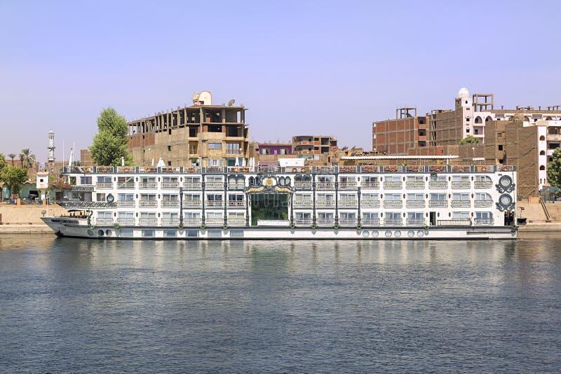 Bateau de croisière du Nil, Egypte photo stock