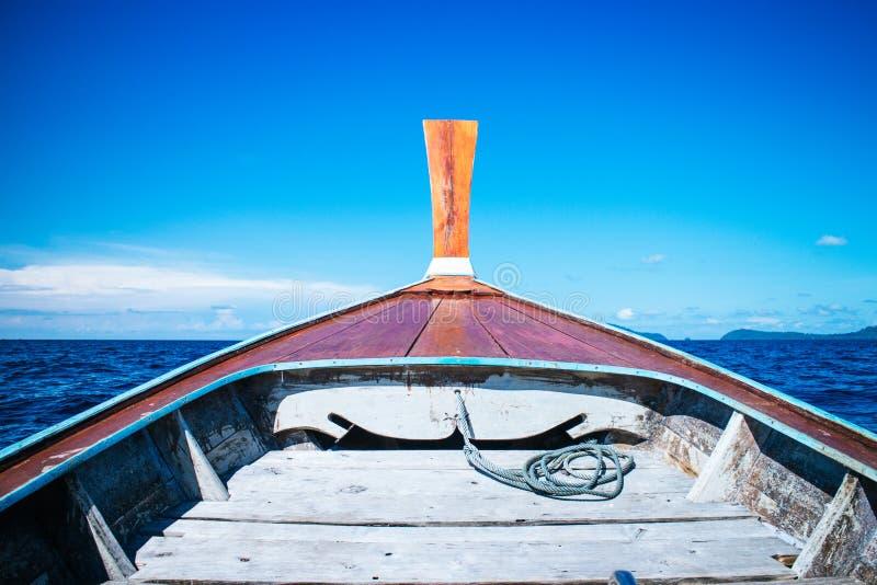 Bateau de découvrir des îles images libres de droits
