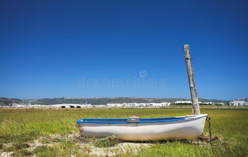 Bateau de Fishermens images libres de droits