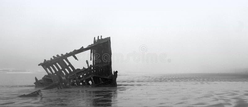 Bateau de Ghost en Orégon photos libres de droits