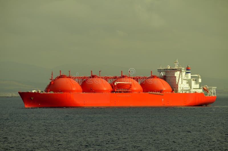 Bateau de GNL pour le gaz naturel image stock