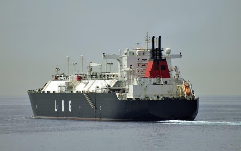 Bateau de GNL pour le gaz naturel photo stock