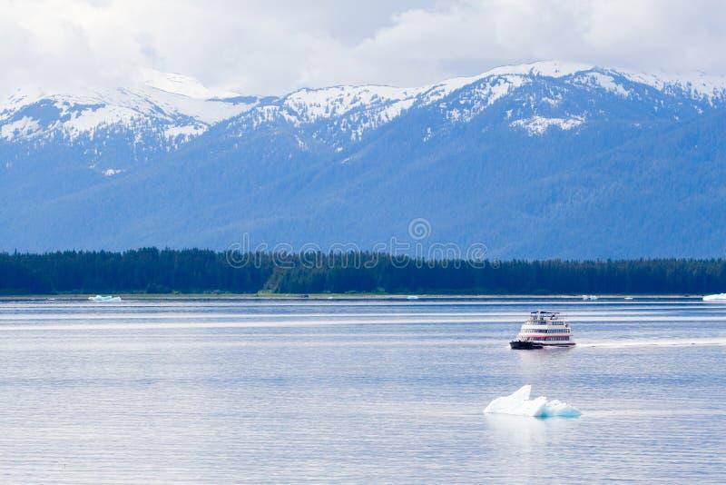 bateau de l'Alaska photographie stock libre de droits