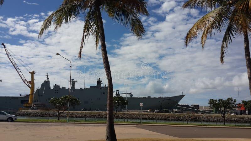 Bateau de la Marine photos libres de droits