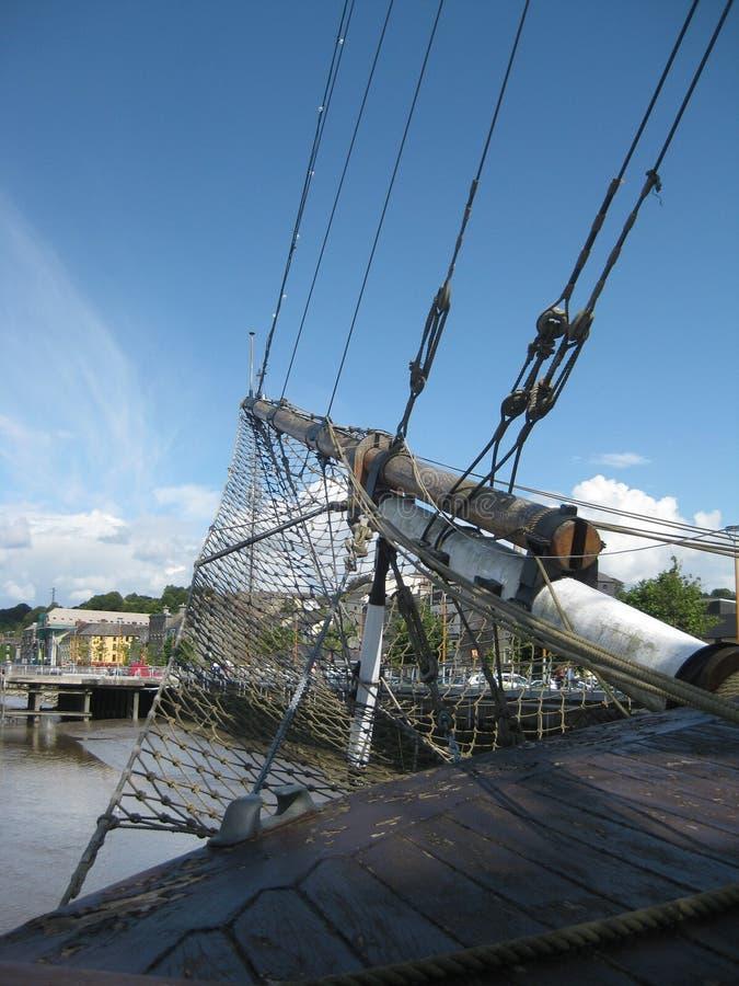 Bateau de navigation calant 3 images stock