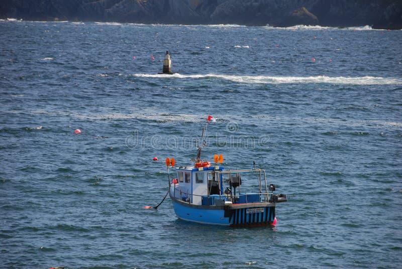 Bateau de pêche images libres de droits