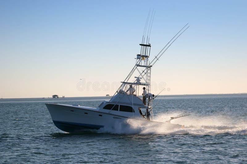 Bateau De Pêche Photos libres de droits