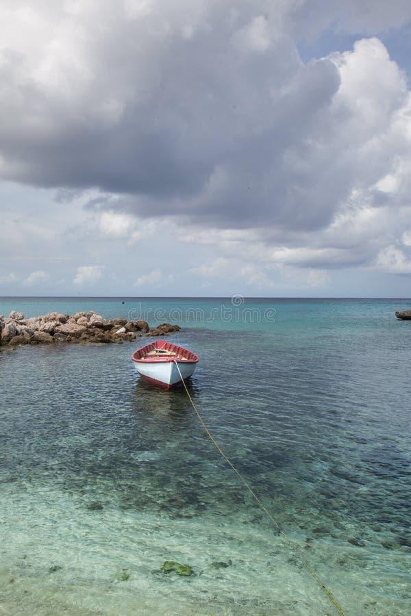Bateau de pêche de plage de Daiboo photographie stock libre de droits