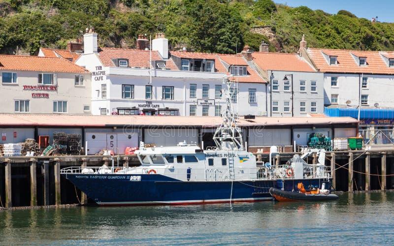 Bateau de patrouille des pêches, North Eastern Guardian III images stock