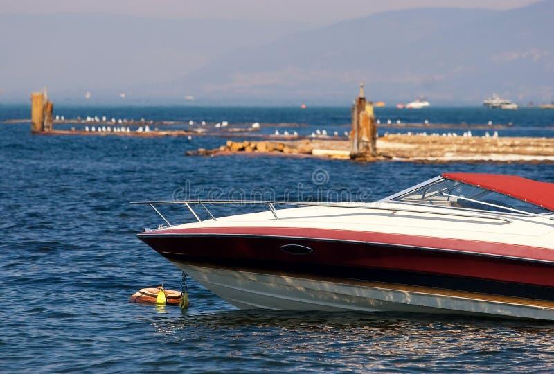 bateau de point d'attache image libre de droits