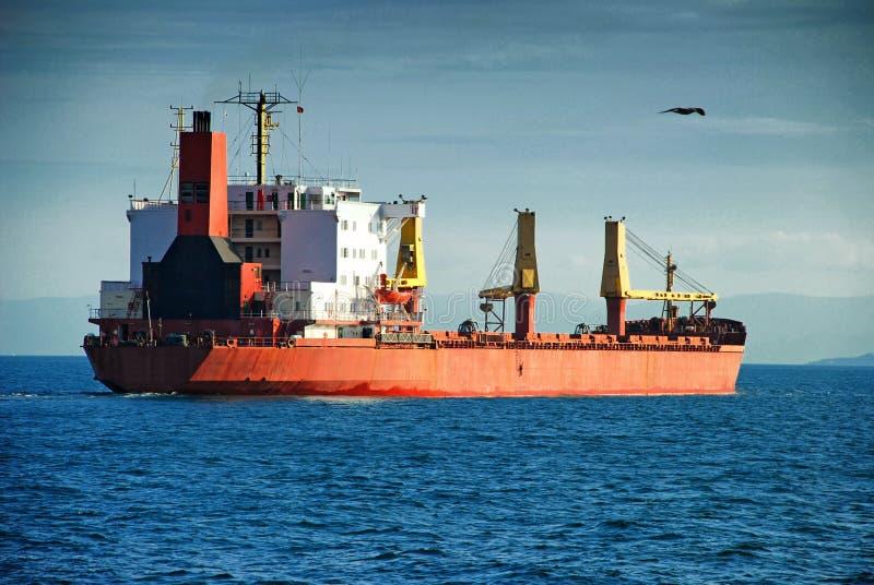 bateau de port de Hambourg de cargaison d'activités photographie stock