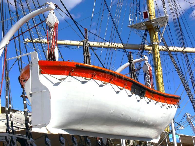 bateau de sauvetage image libre de droits