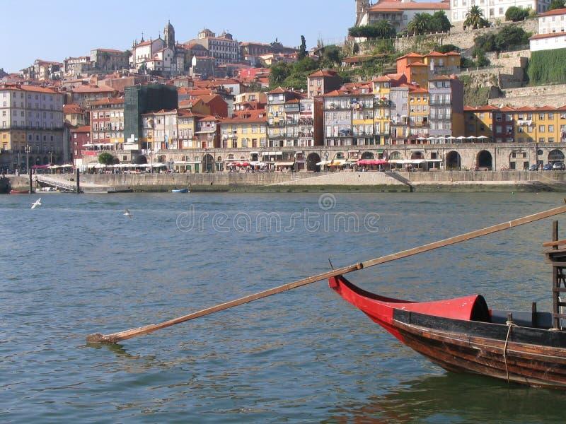 Bateau de vin - Porto photo libre de droits