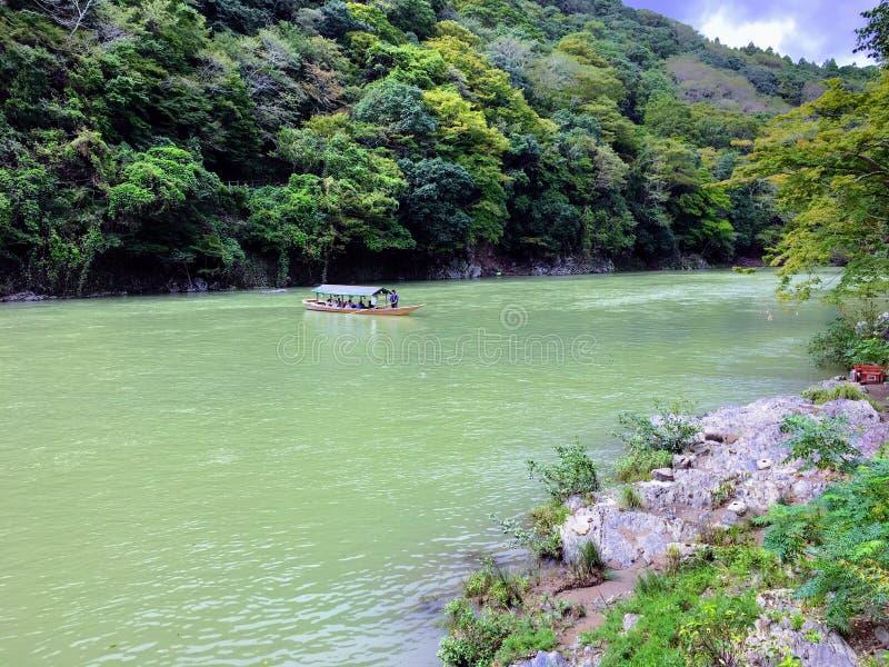 Bateau fluvial photo stock
