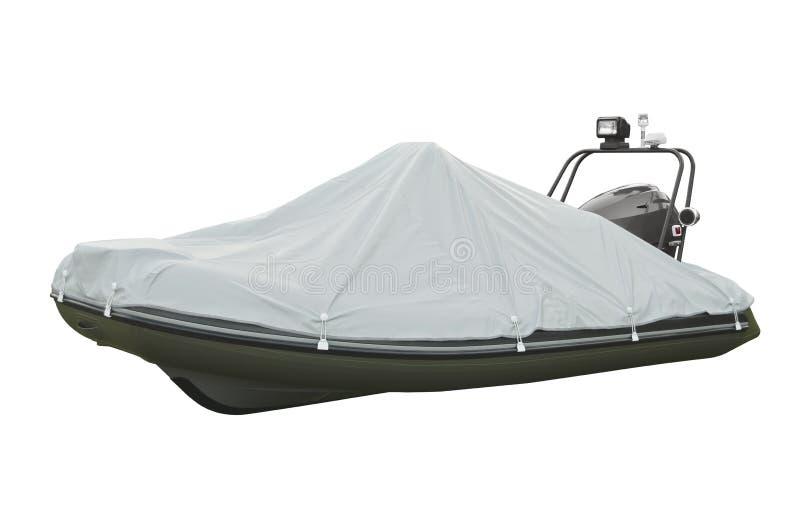 bateau gonflable avec le moteur image stock image du gonflable flotter 41653019. Black Bedroom Furniture Sets. Home Design Ideas