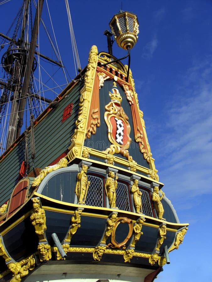 Download Bateau grand hollandais 2 photo stock. Image du dock, reproduction - 90704