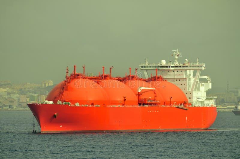bateau normal de GNL de gaz image libre de droits