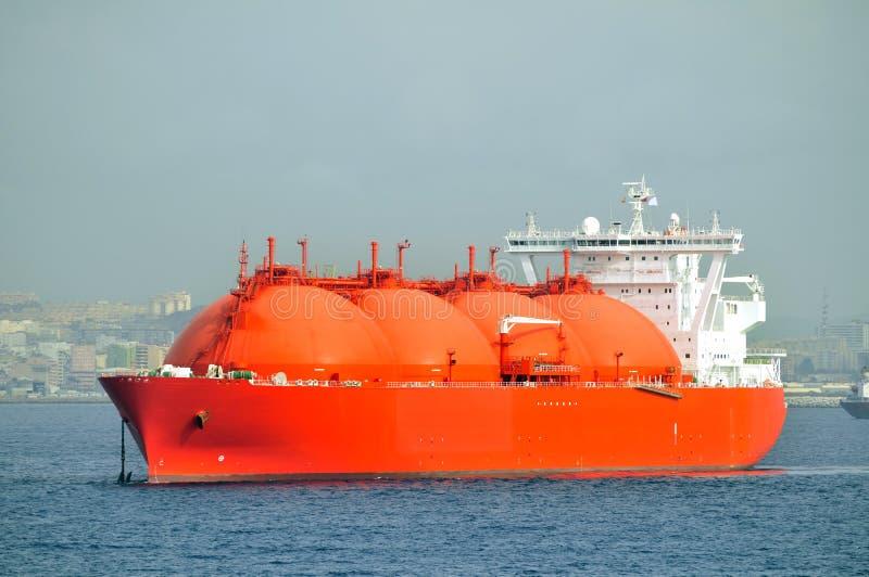 bateau normal de GNL de gaz porteur photo stock