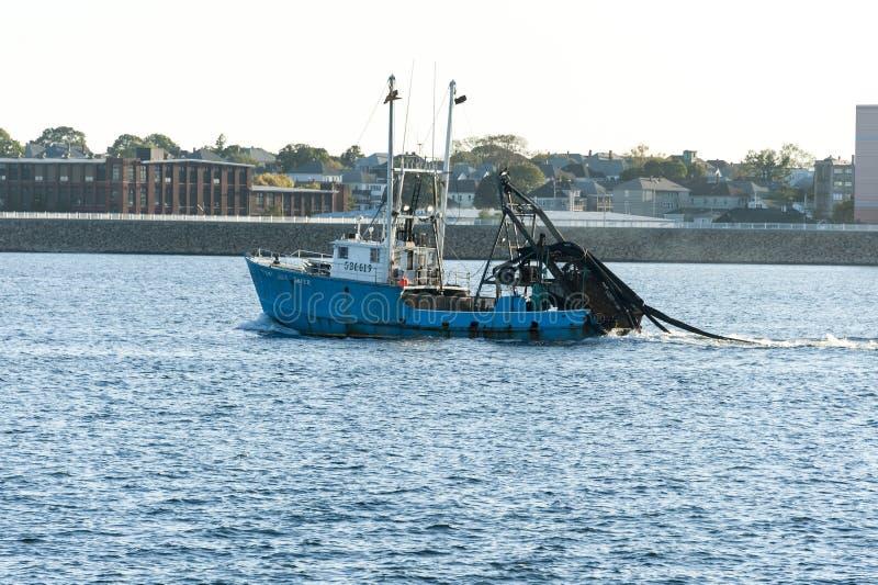 Bateau pirate bateau de pêche nouveau photo stock