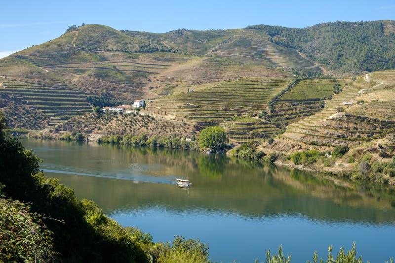 Bateau Rio Douro Regua images stock