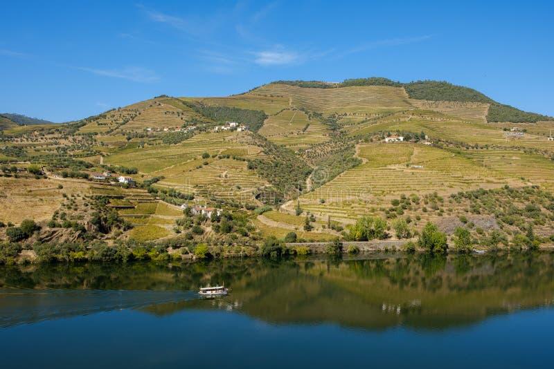 Bateau Rio Douro Regua photos stock
