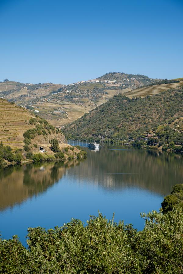 Bateau Rio Douro Regua photographie stock libre de droits