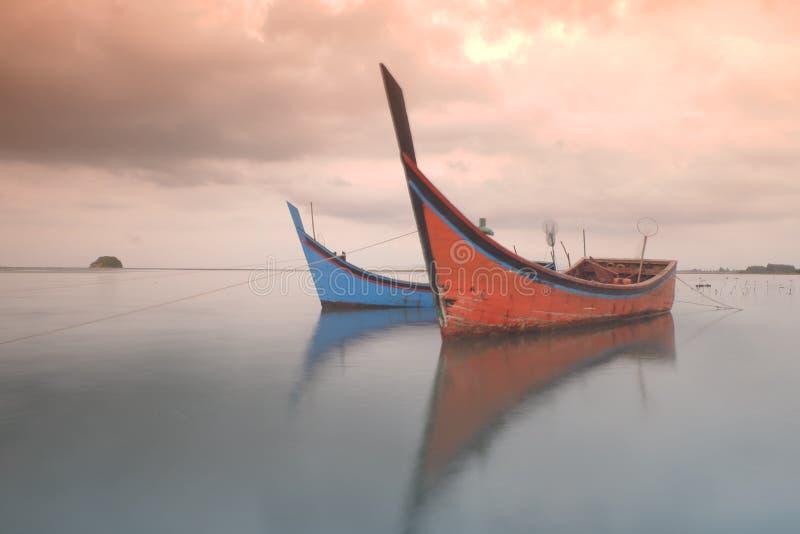 Bateau traditionnel d'Aceh photographie stock