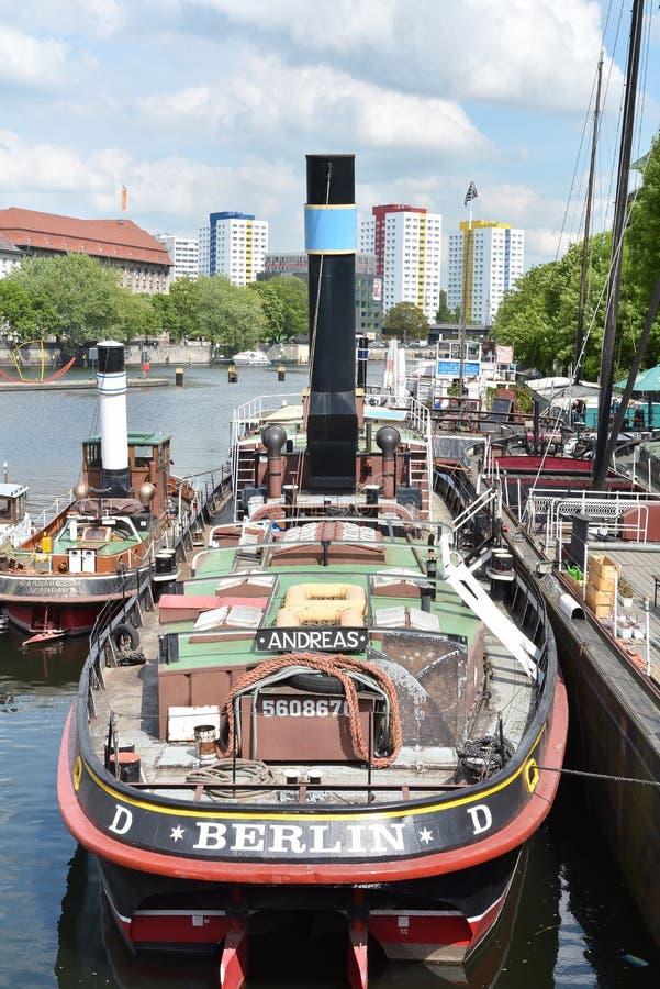Bateaux à Berlin photos stock