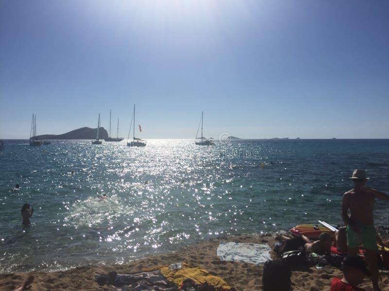 Bateaux au soleil photo stock
