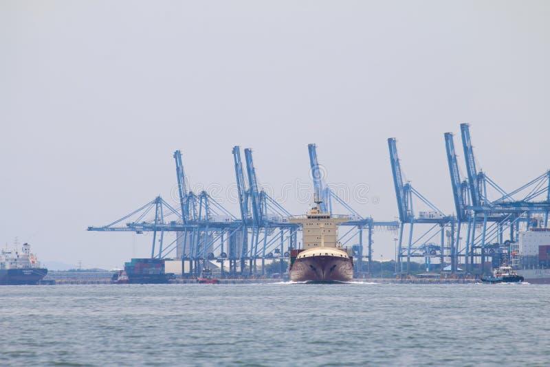 Bateaux chez Northport, Klang, Malaisie - série 4 images stock