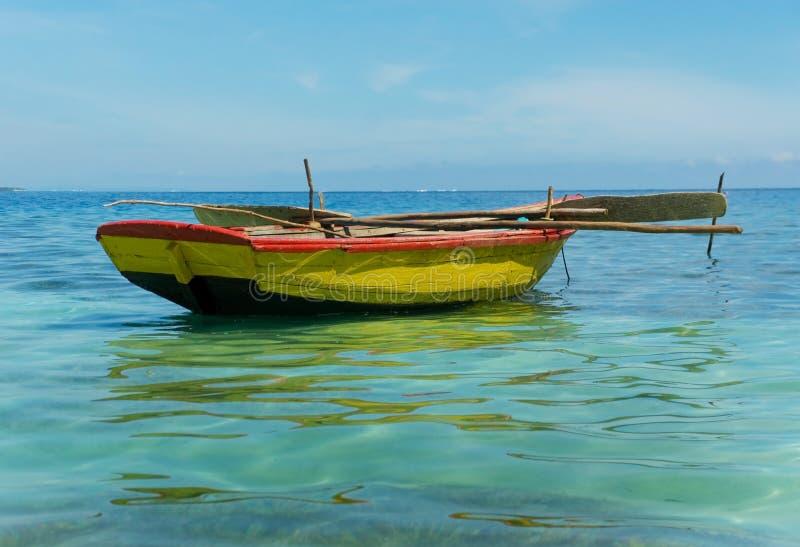 Bateaux de pêche haïtiens photos stock