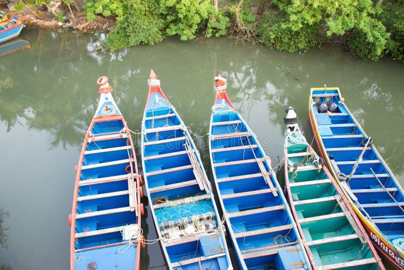 Bateaux de pêche indiens photographie stock