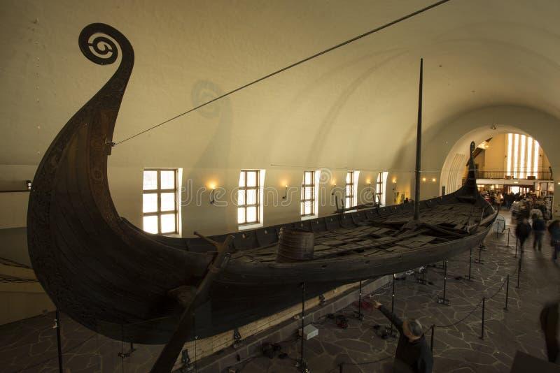 Bateaux de Vikings photo libre de droits
