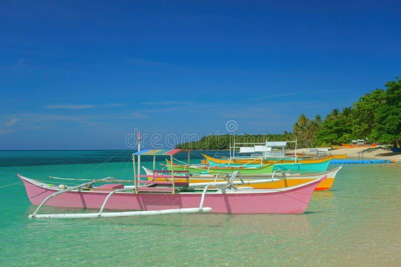 Bateaux philippins photographie stock libre de droits