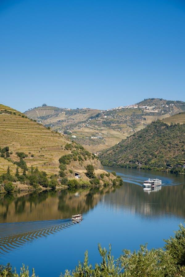 Bateaux Rio Douro Regua images libres de droits