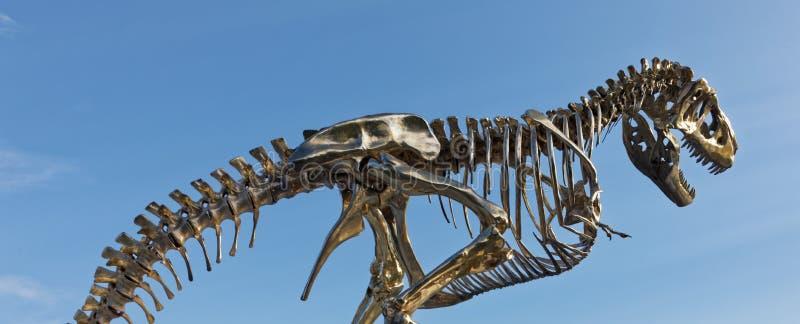 bateaux T-Rex w Paryż obraz royalty free