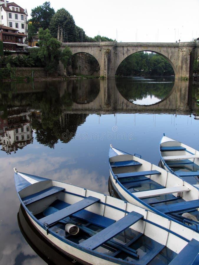 bateaux trois images libres de droits