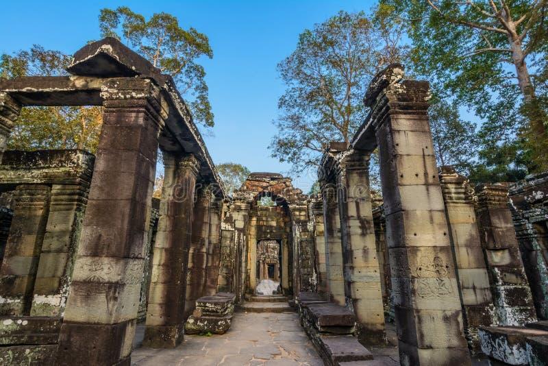 Bateay Kdei temple stock image